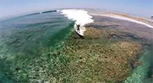 Graban con drones el vídeo más espectacular de surf del 2014
