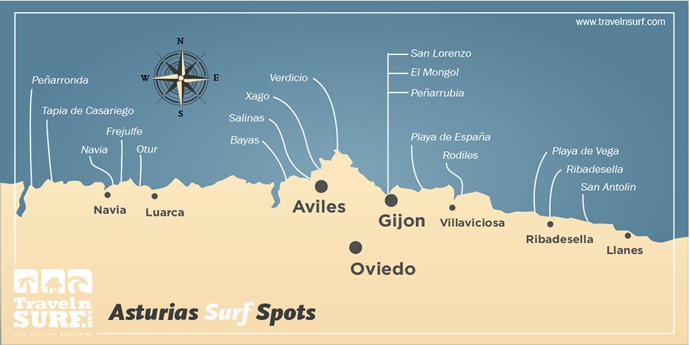 Travelnsurf Com Surfing In Asturias Spain Europa Surf