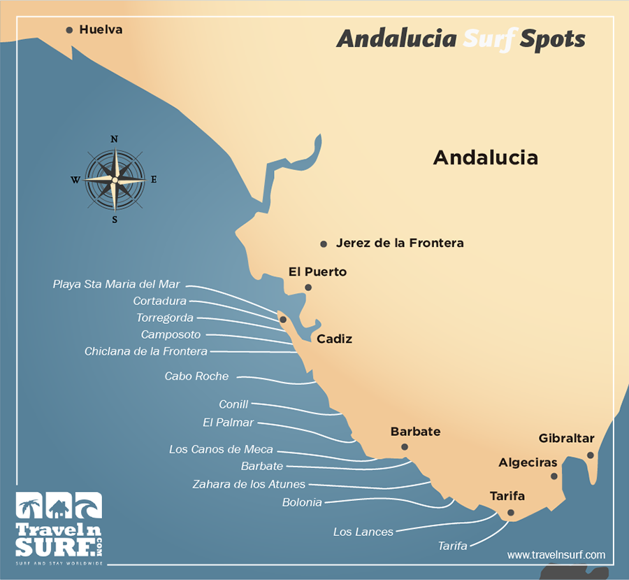 Travelnsurf Com Surfing In Andaluc 237 A Spain Europa Surf Camps Surf House Surf Hostel Surf