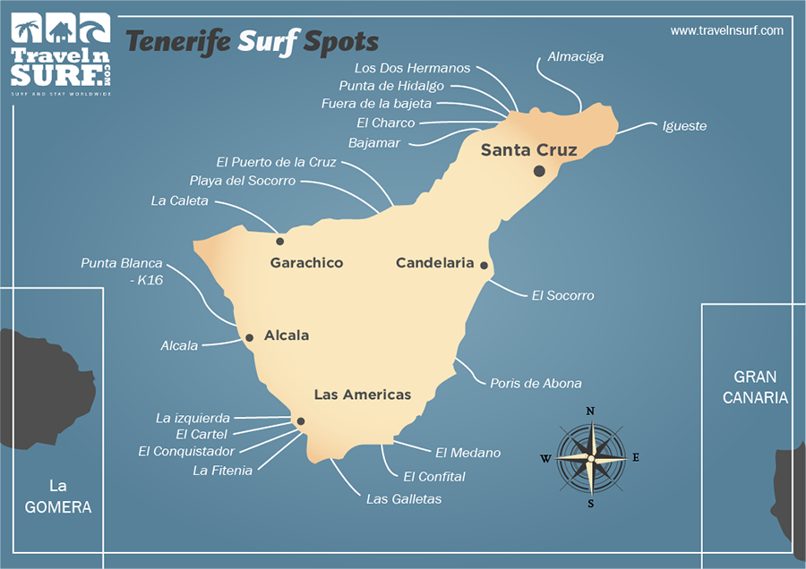 Tenerife Surf Spots