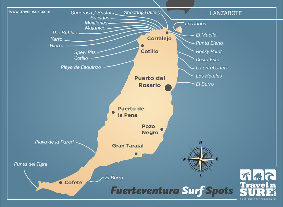 Fuerteventura Surf Spots