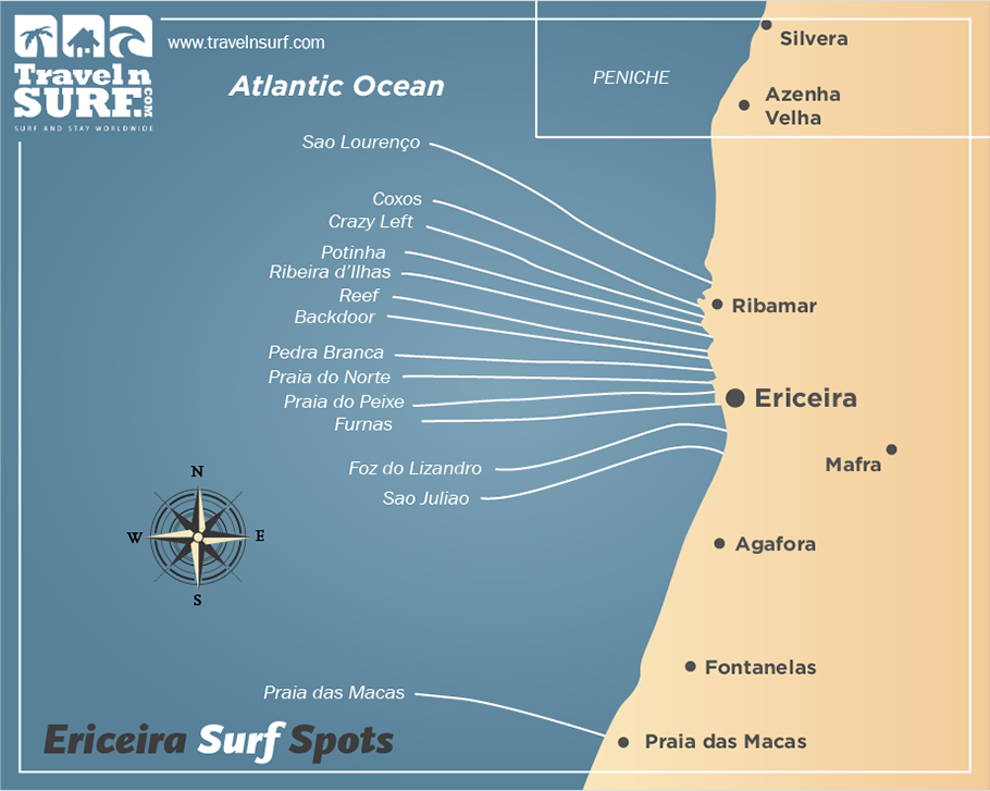Travelnsurf Com Surfing In Ericeira Ericeira Area Portugal Europa Surf Camps Surf House