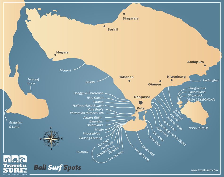 Travelnsurf Com Surfing In Keramas Bali Indonesia